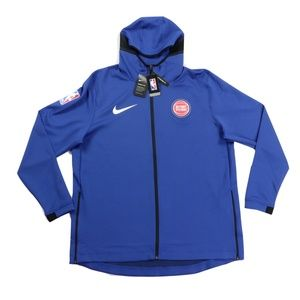 New Nike Detroit Pistons Team Issued Therma Hoodie